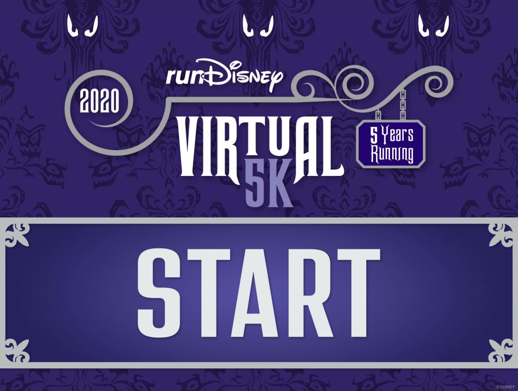 RunDisney Haunted Mansion Start Line Graphic